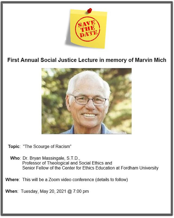 First Annual Social Justice Lecture in m