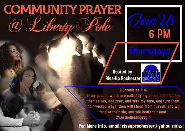 6-2-2020 Rise Up Rochester Prayer Servic