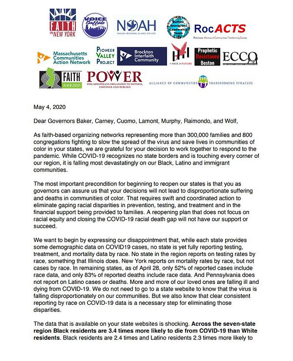 Racial Equity Letter to NE Governors 1.J