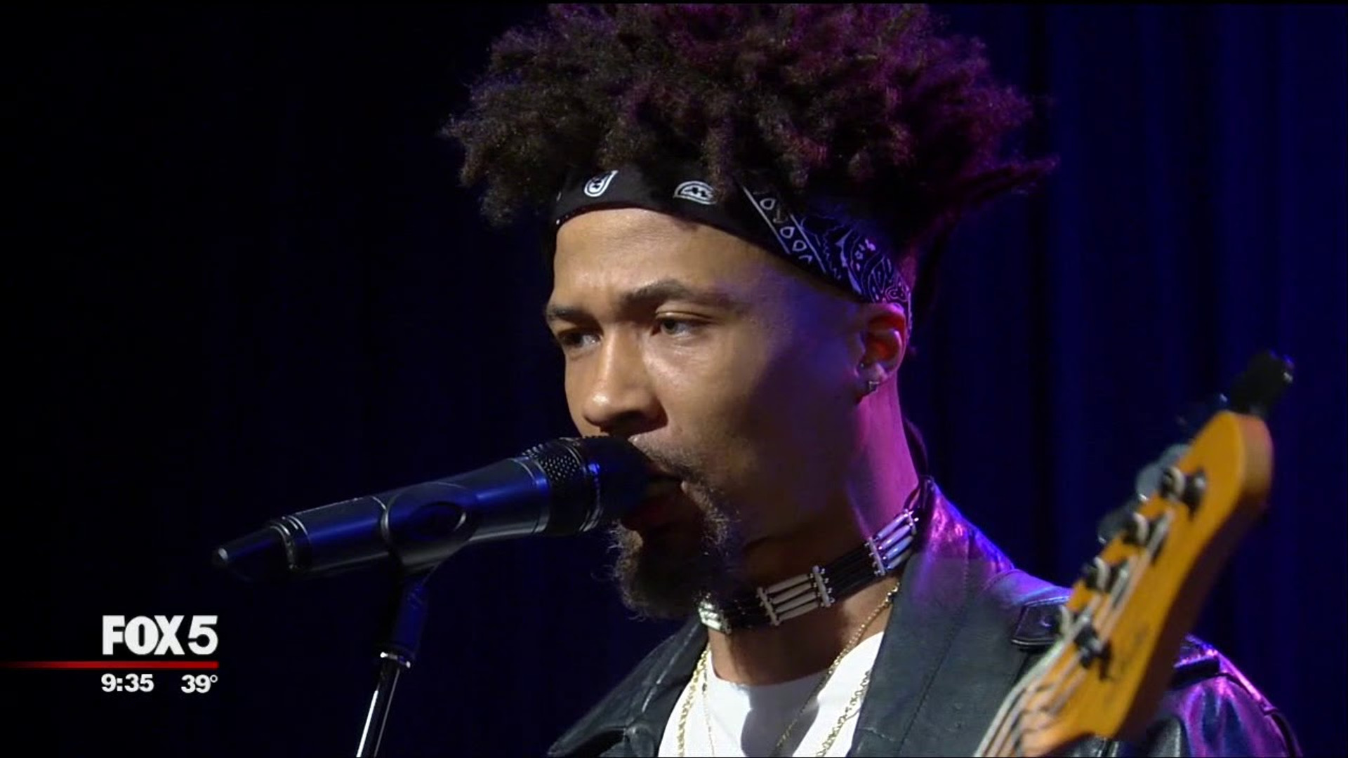 "Jonny Goood Fox 5 ""Good Day New York"" performance"