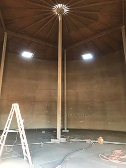 Interior Steel Tank