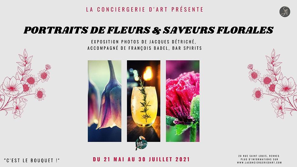 PORTRAITS DE FLEURS & SAVEURS FLORALES.j