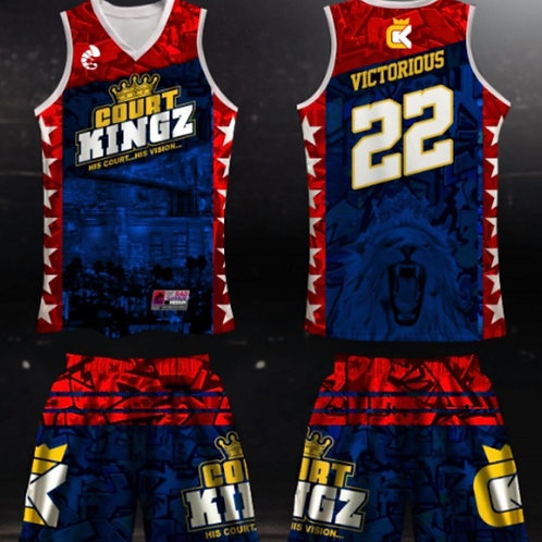 Court Kingz Blue Jersey