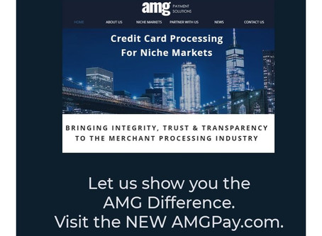The NEW AMGPay.com Is Live!