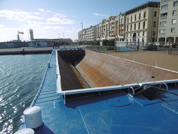location barge fluvial