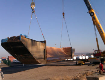 barge fluvial