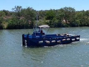 location pousseur fluvial