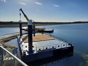 location ponton fluvial