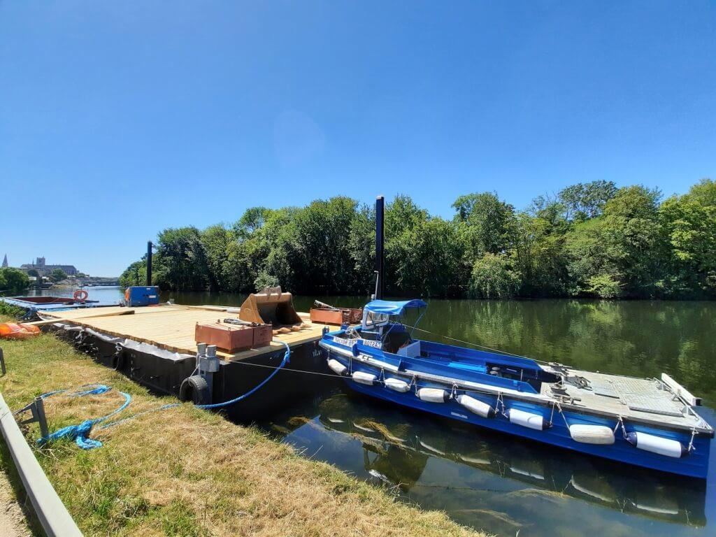 location bateaux pousseurs