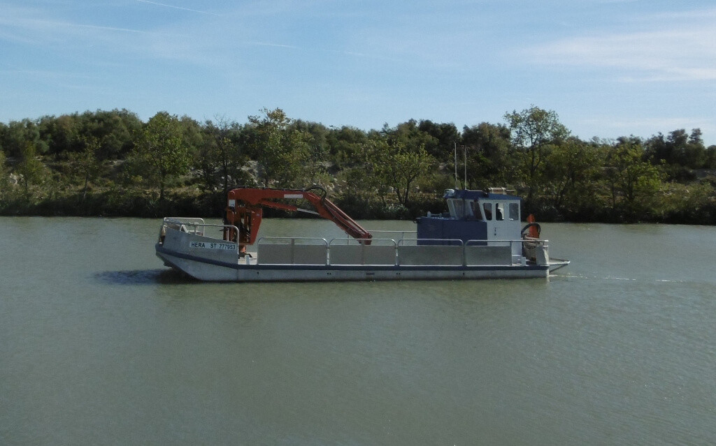 location bateau balisage
