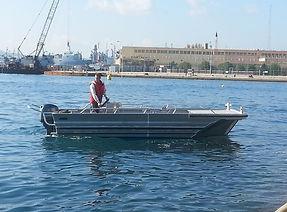 location bateau de service