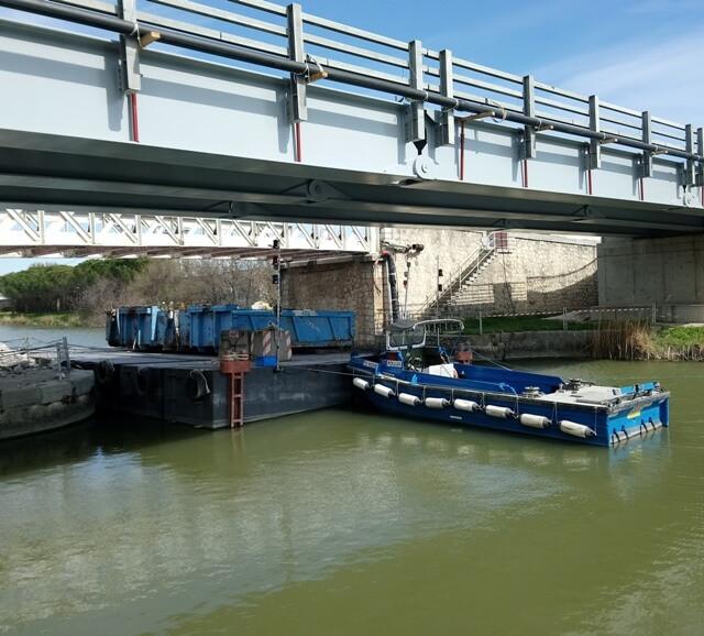 pousseurs fluvial