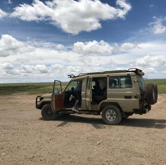 One of our safari vehicles