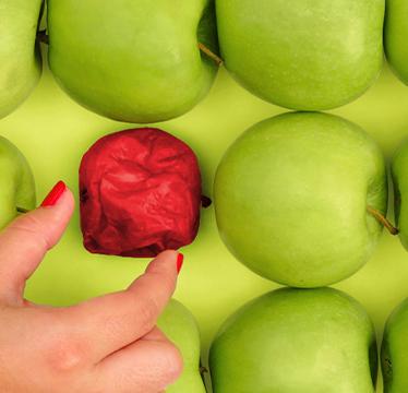 La Ley de la Manzana Podrida