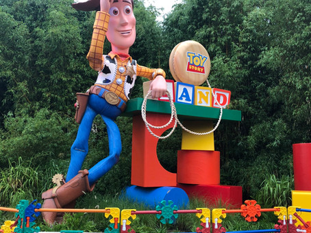 GRAND OPENING: Toy Story Land