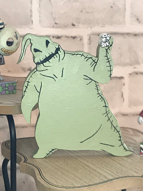 Oogie Boogie Standing 3D Tiered Tray Sign