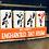 Thumbnail: Enchanted  Tiki Room 5 Piece Wood Stacking Block Set