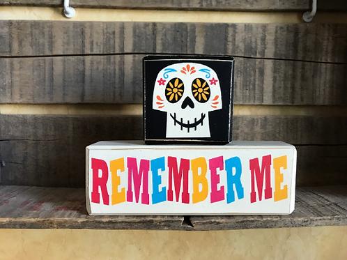 Remember Me Coco Ofrenda Remembrance Stacking Blocks