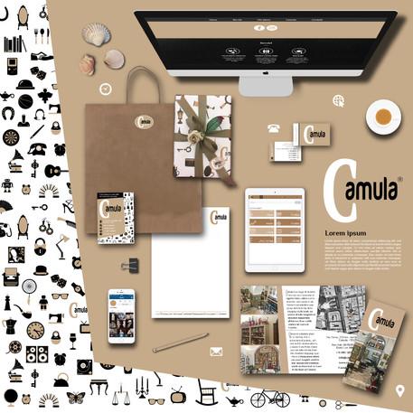 Camula Brand Identity