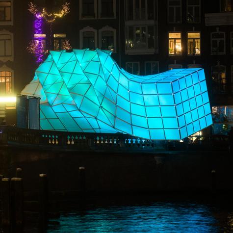 EyeBeacon for Amsterdam Light Festival