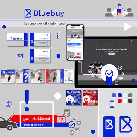 Bluebuy Brand Identity