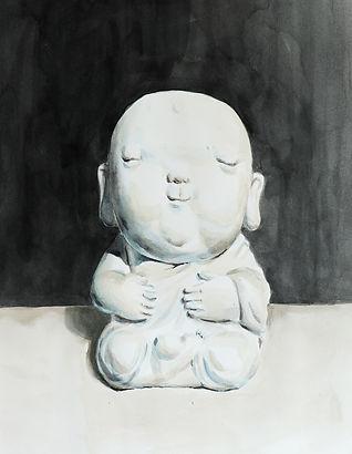buddha watercolor