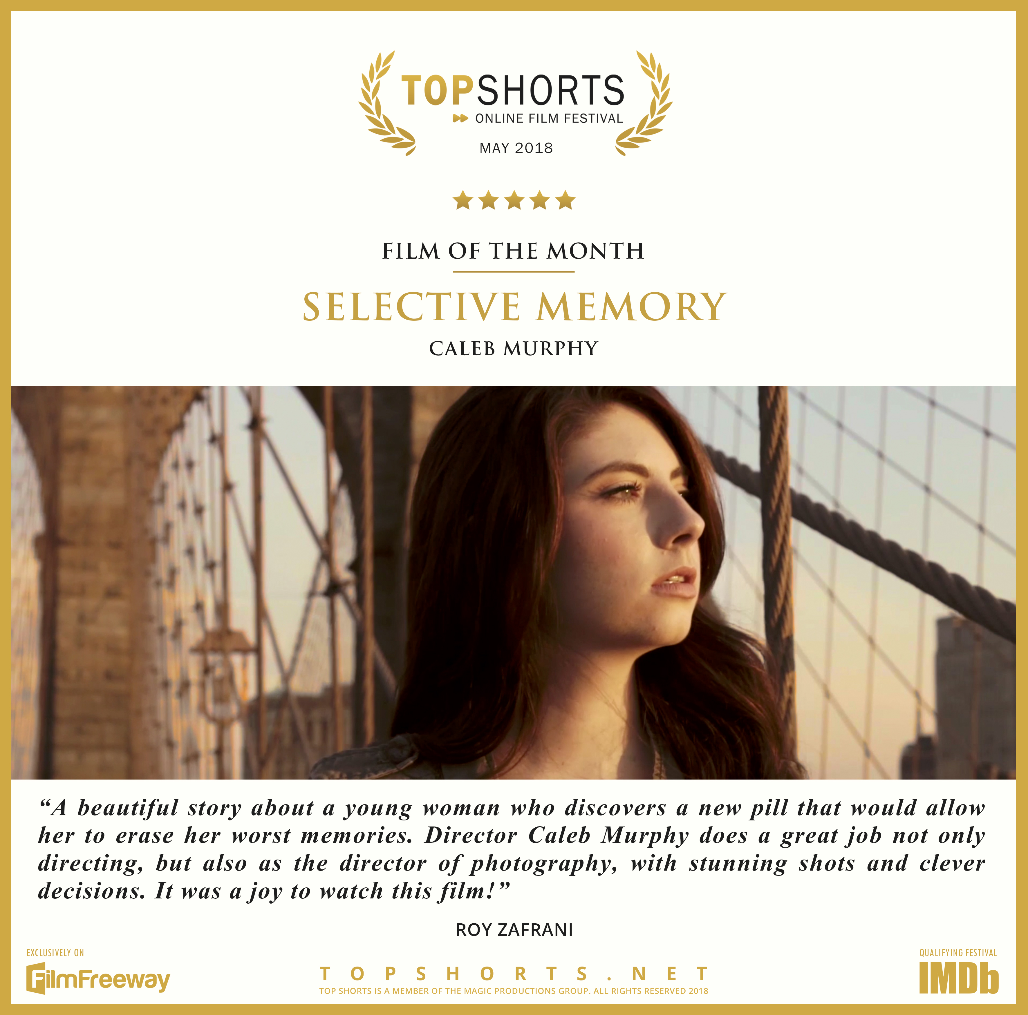 2018 05 Film of the Month - Selective Memory