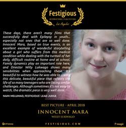 INNOCENT MARA - Best Picture
