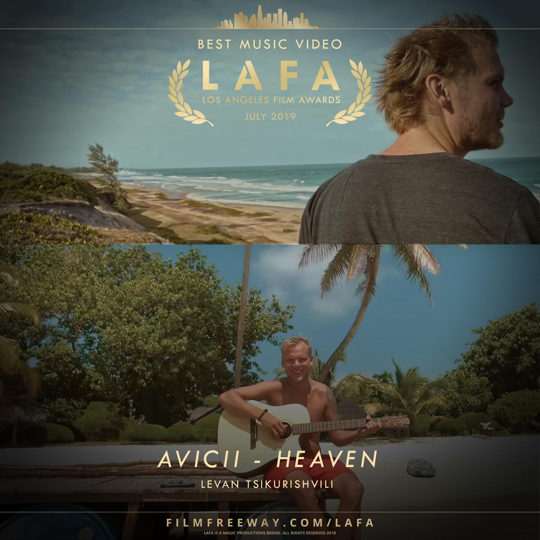 AVICII - HEAVEN design