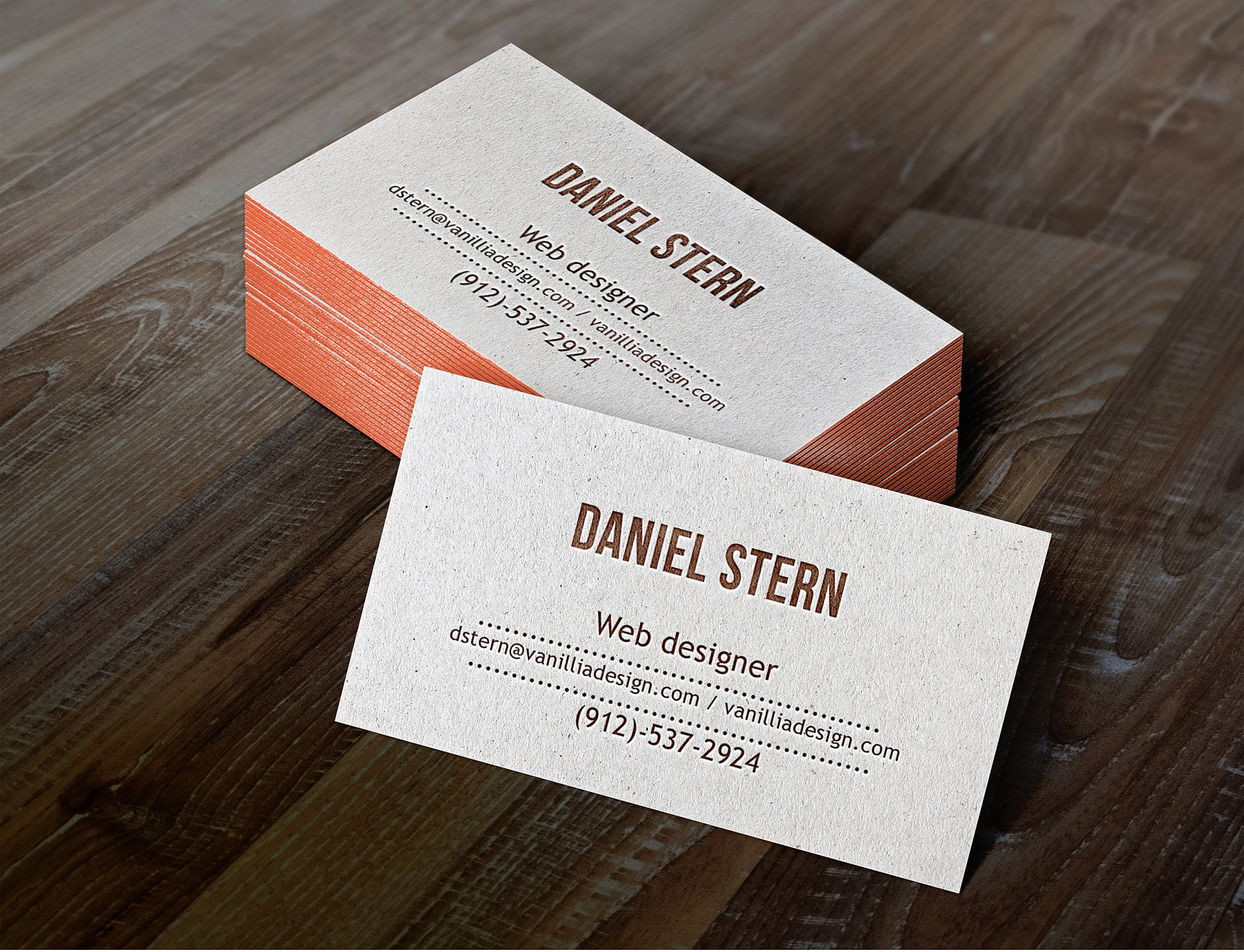 Magic productions business card design letterpress business cards mockup daniel sterng reheart Gallery
