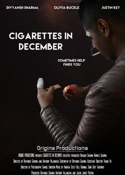 Cigarettes in December