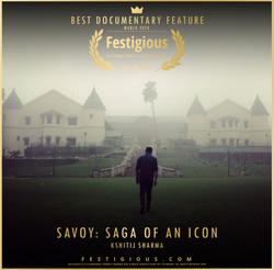 Savoy- Saga Of An Icon design
