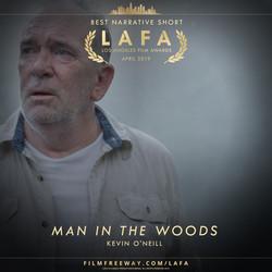 Man in the Woods design