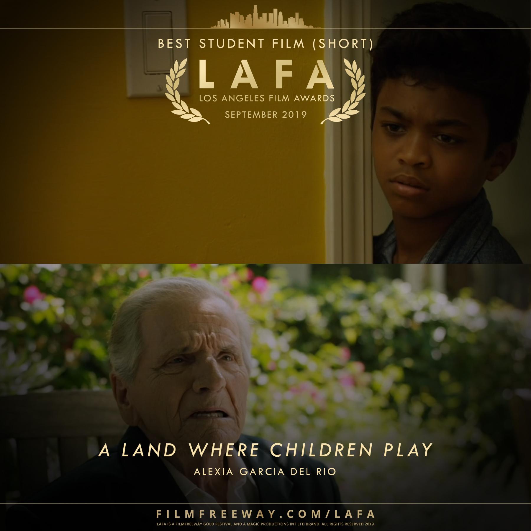 A LAND WHERE CHILDREN PLAY design
