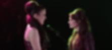 Eleanor Burke and Lauren Cornelius in A