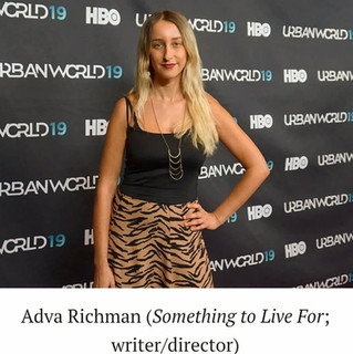 An interview with Adva Reichman