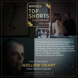 Hollow Heart design
