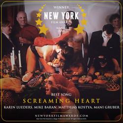 SCREAMING HEART design