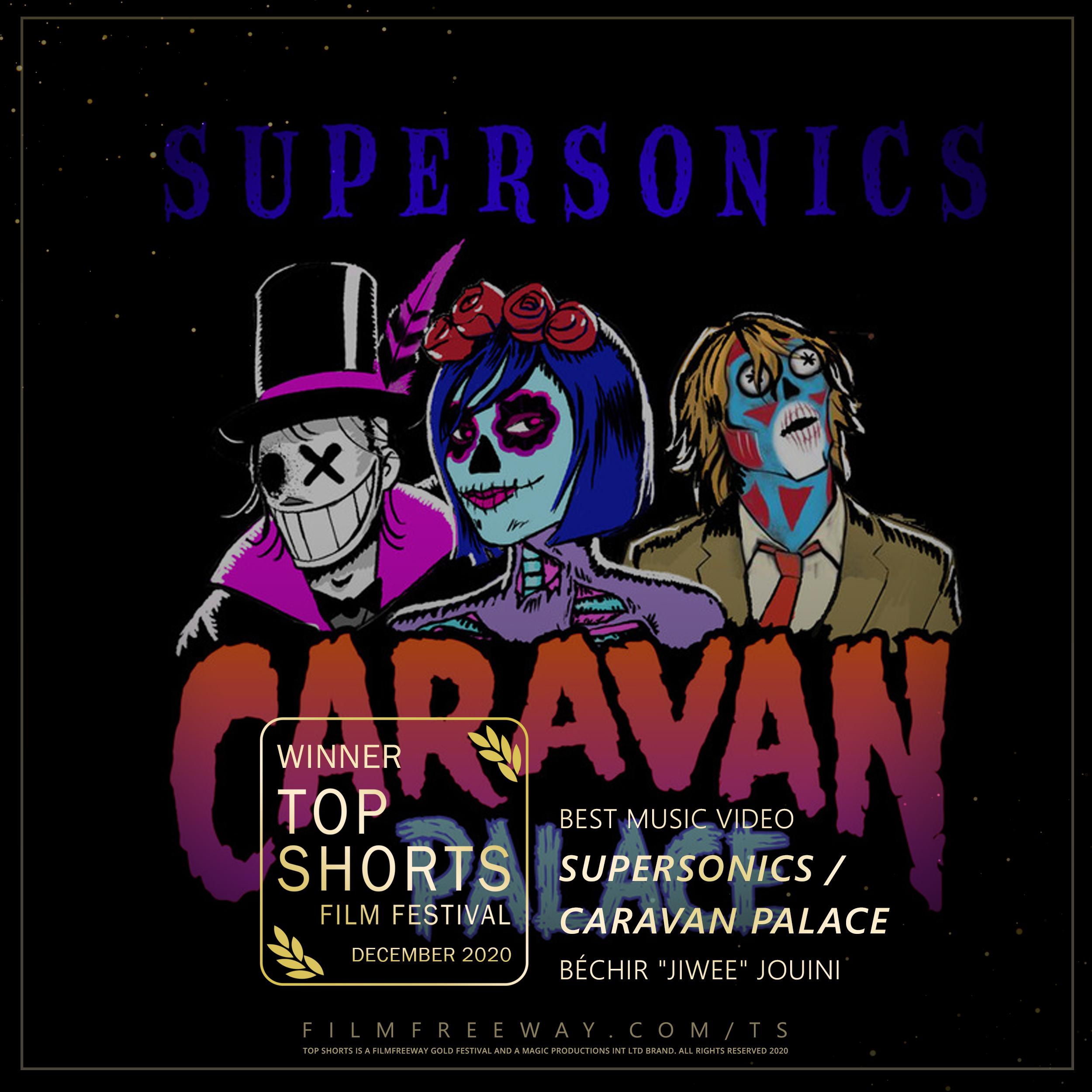 Supersonics Caravan Palace design
