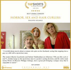 2018 06 Best Dark Comedy - HORROR, SEX AND HAIR CURLERS
