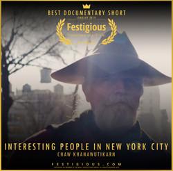 INTERESTING PEOPLE IN NEW YORK CITY - De