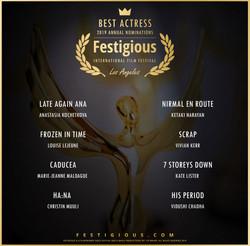 Festigious BeST Actress