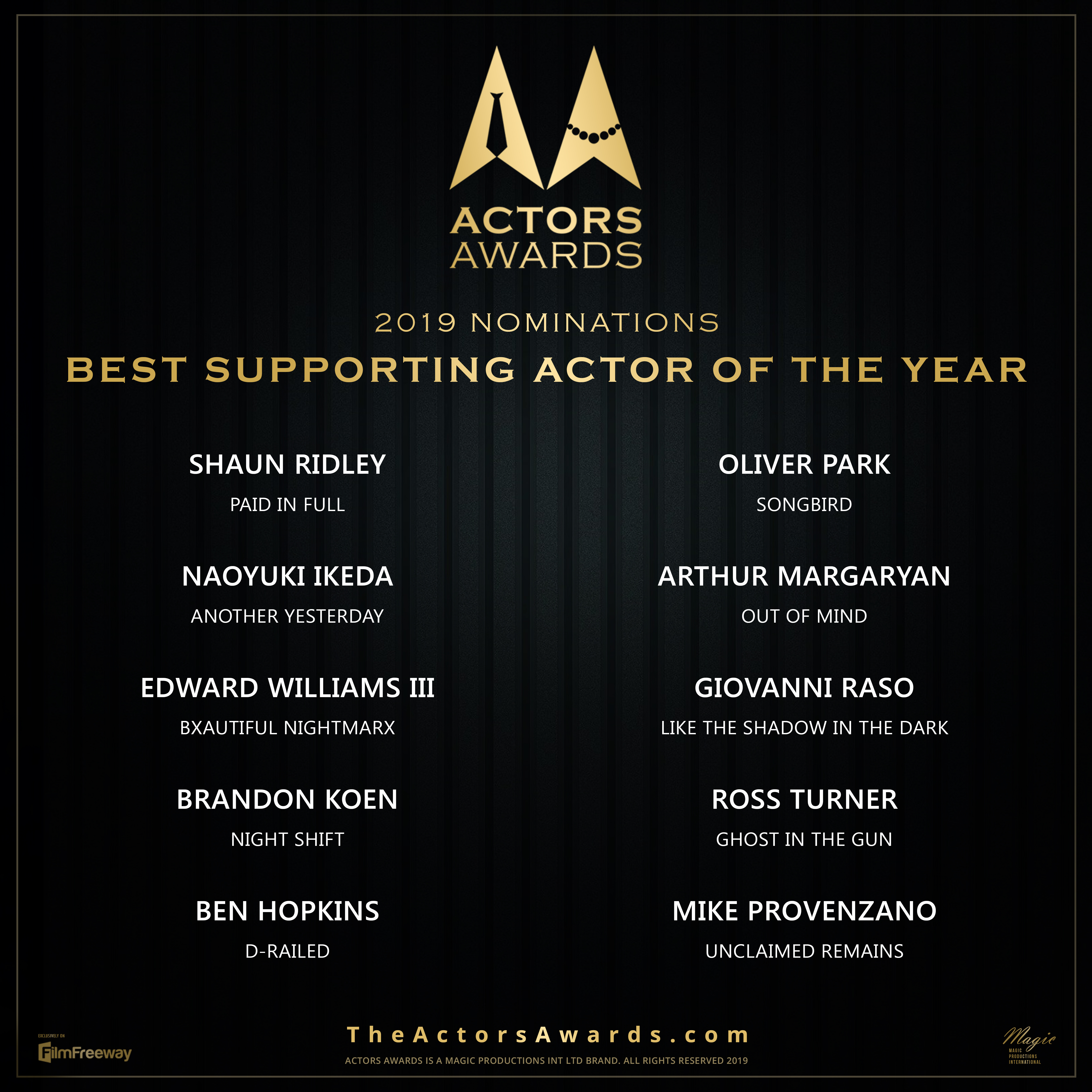 ACTORS AWARDS Best Supporting Actor