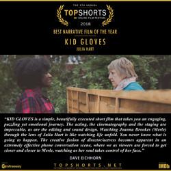 Kid Gloves - Best Narrative Film