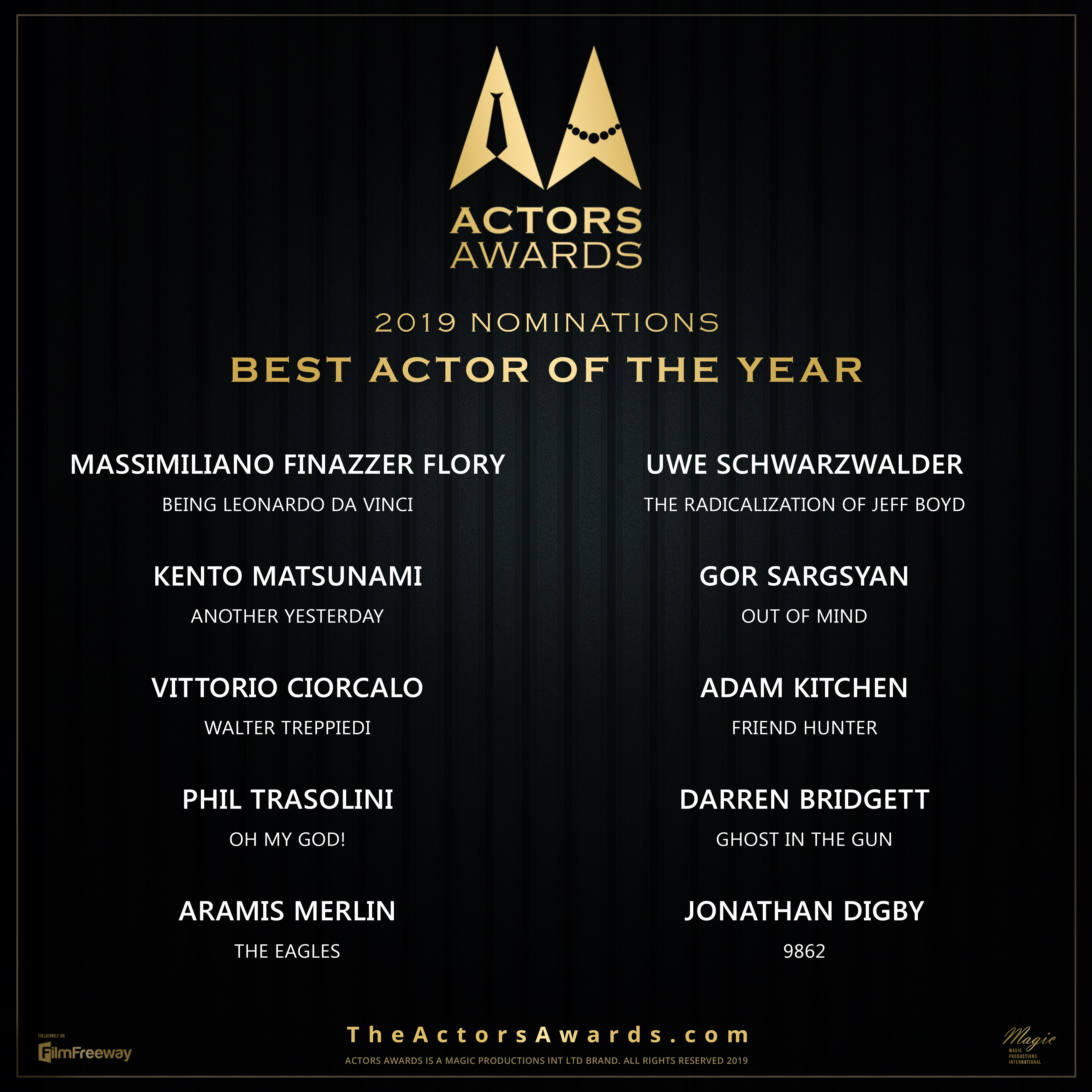 ACTORS AWARDS Best Actor