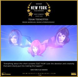 Team Teenettes - 2018 08 Best Comedy