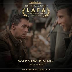 WARSAW RISING design