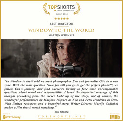 2018 08 Best Director - Window to the Wo