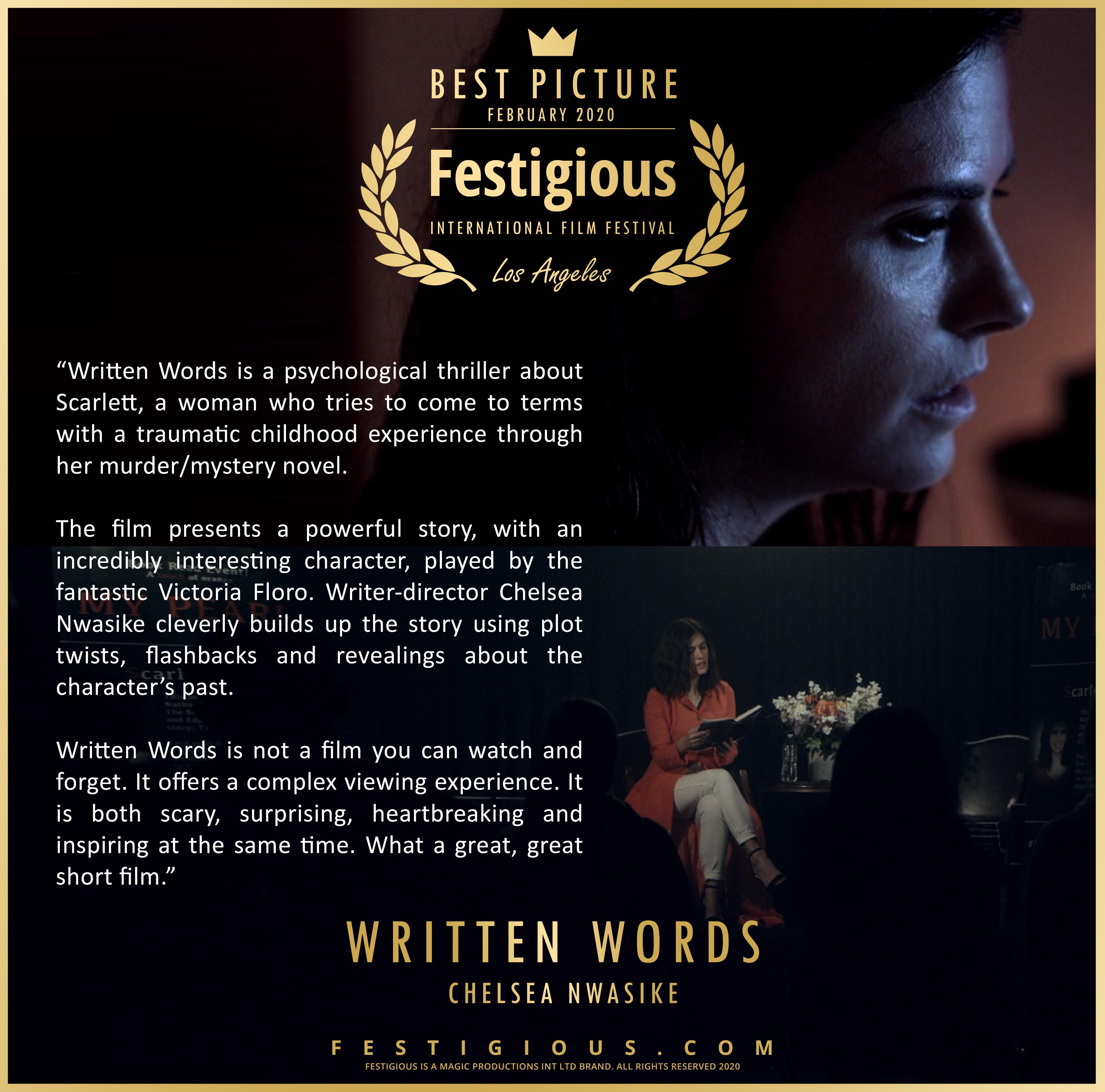 Written Words review
