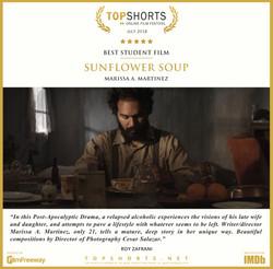 2018 07 Best Student Film - Sunflower Soup